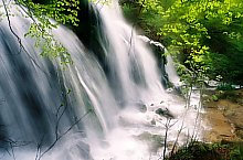 Beusnica vízesések, Aninai hegység., Fotó: Daniel Humelnicu