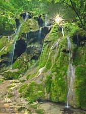 Beusnica vízesések, Aninai hegység., Fotó: Dan Dinu