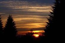 Sasok szérüje, Napnyugta, Fotó: Hám Péter