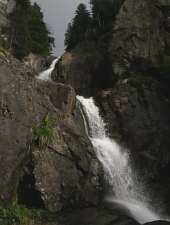 Moara Draganului waterfall, Photo: Hám Péter