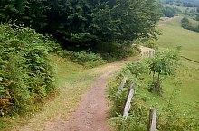 Traseul comun cu punctul roșu, Foto: WR