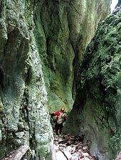 A Rossz Völgy kanyon, Szegyesd , Fotó: Paul Brănescu