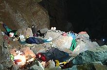 V5 vertical cave, Good night!, Photo: Perényi Katalin