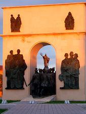 Megbékélés parkja, Arad., Fotó: WR