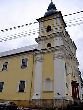 Katolikus templom, Nagybánya., Fotó: WR