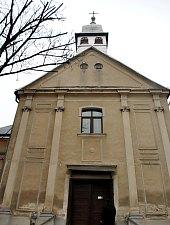 Baia Mare, Catholic Church in Small Square, Photo: WR