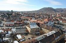 Kilátás a Szent István toronyból, Nagybánya., Fotó: WR