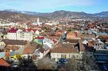 Panorama din Turnul Sfantul Stefan, Baia Mare, Foto: WR