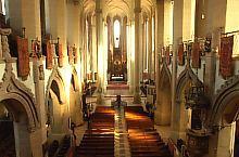 Biserica Neagră, Către altar Foto: Peter Simon