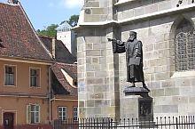 Biserica Neagră, Statuia lui Honterus, Foto: Puskás Bajkó Gábor