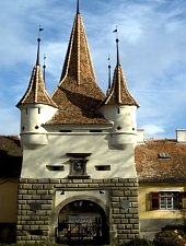 Katalin gate, Brașov·, Photo: Pénzes Nándor
