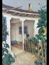 Nicolae Tonitza: Dobrudzsai ház