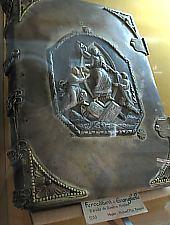 Az Első Román Iskola, Vasalt evengélium 1753, Dimitrie Nicolau hagyaték, Fotó: Robert Lázár