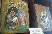 Az Első Román Iskola, Tetraevanghelium míniummal festett, pergament lapokra íródott 1560-ben a Râsca-i kolostorban, Fotó: Robert Lázár