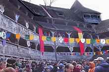The Weavers' Bastion, The Court in royal garments, Photo: Puskás Bajkó Gábor