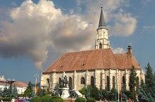 Szent Mihály templom, Kolozsvár., Fotó: Mircea Vâlcu