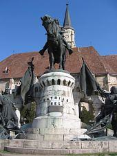 Statuia lui Matei Corvin, Cluj-Napoca, Foto: Takács Tibor