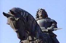 Statuia lui Matei Corvin, Cluj-Napoca, Foto: Hám Péter