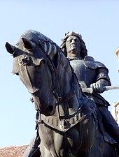 Kolozsvár: Mátyás király szobra