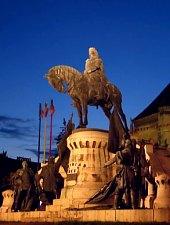 Statuia lui Matei Corvin, Cluj-Napoca, Foto: Radu Capan