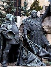 Statuia lui Matei Corvin, Cluj-Napoca, Foto: Mezei Elemér