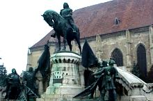 Statuia lui Matei Corvin, Cluj-Napoca, Foto: Daniel Stoica