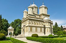 Arges Monastery, the Episcopal Church, Photo: Bogdan Apostoaia