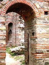 Sân Nicoara templom romjai, Curtea de Argeș., Fotó: Claudia Gilcă