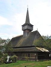 Budești, Biserica de lemn Susani, Foto: WR
