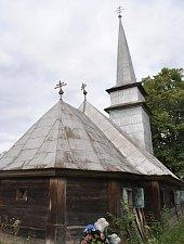 Biserica de lemn, DJ109f Feresti-Galgau, Foto: WR