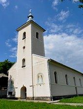 Ortodox templom, DJ109f Fejérfalva-Galgó., Fotó: WR
