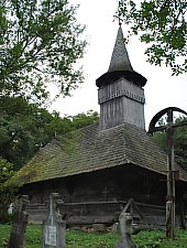 Wooden church, Bulgari , Photo: WR