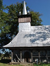 Wooden church, Chieșd , Photo: WR
