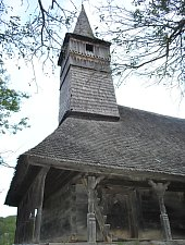 Wooden church, Noțig , Photo: WR