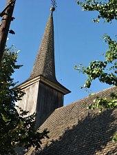 Biserica de lemn, Ulmeni , Foto: WR