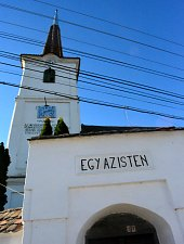 Unitarian church, Trei Sate , Photo: WR