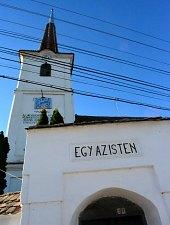Unitárius templom, Hármasfalu , Fotó: WR