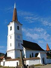 Unitárius templom, Hármasfalu , Fotó: Tökés Lóránd