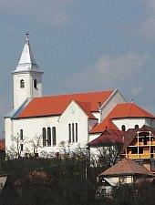 Katolikus templom, Oroszhegy , Fotó: Csedő Attila