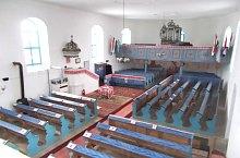 Református templom, Hármasfalu , Fotó: Kiss Dénes