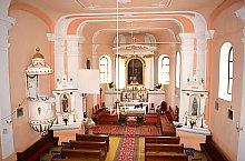 Katolikus templom, Székelyszenttamás , Fotó: WR