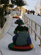 Snowtubing, Harghita Băi , Photo: Hopánko FB