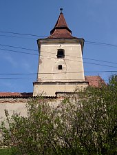 Evangelical fortified church, Agarbiciu , Photo: Victor Constantin