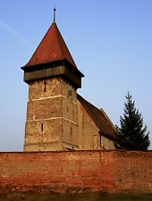 Brateiu, Fortified church, Photo: Tudor Seulean