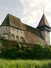 Brateiu, Fortified church, Photo: Hermann Fabini