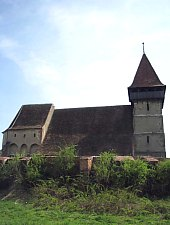 Brateiu, Fortified church, Photo: Andreea Grososiu