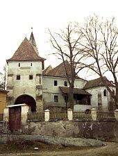 Evangélikus erődtemplom, Küküllő- kőrös , Fotó: Hermann Fabini