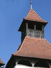 Daneș, Evangelical fortified church, Photo: Szabó Teréz