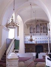 Daneș, Evangelical fortified church, Photo: Hermann Fabini