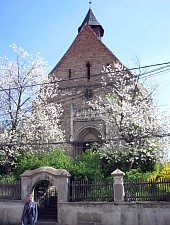 Evangelical fortified church, Darlos , Photo: Andreea Grosoșiu